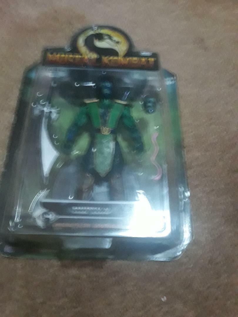 Jazwares Mortal Kombat Reptile, Liu Kang, Kano series 2 RARE Damaged packages