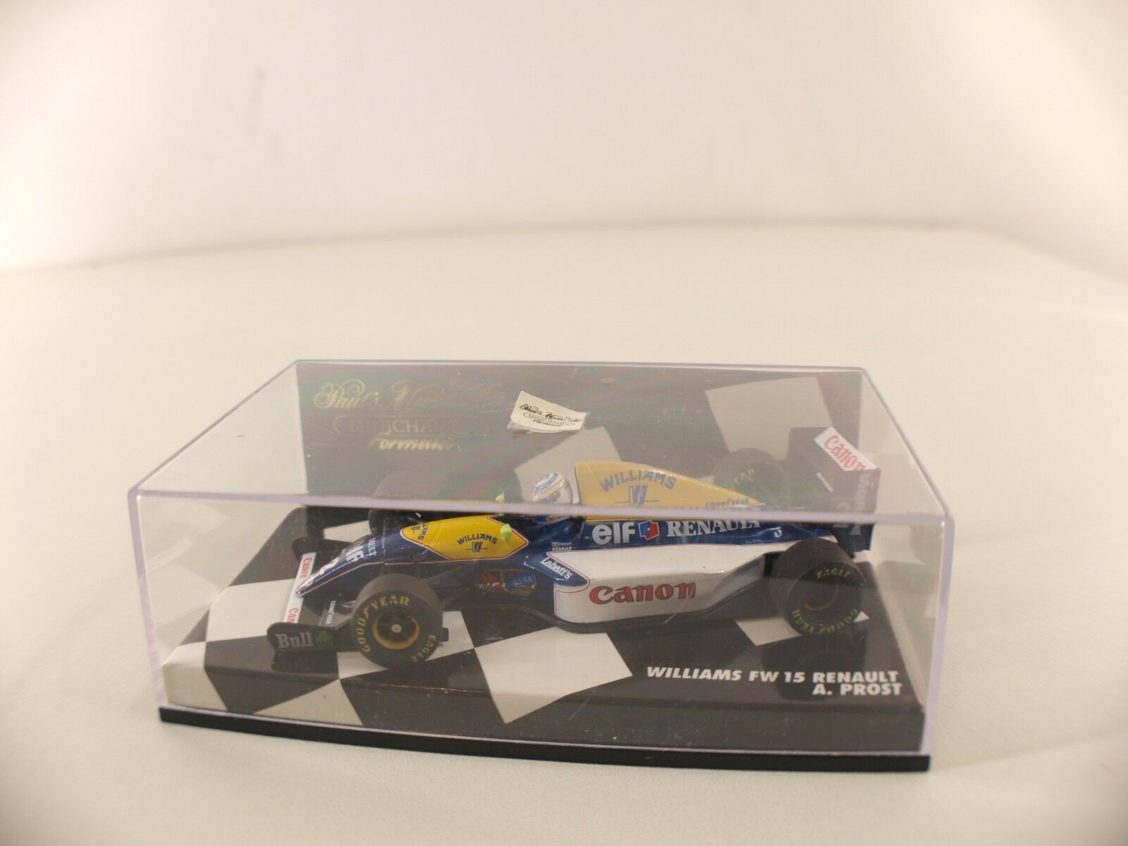 Minichamps • Williams Fw 15 Renault A.Prost • 1/43 Nuovo Scatola