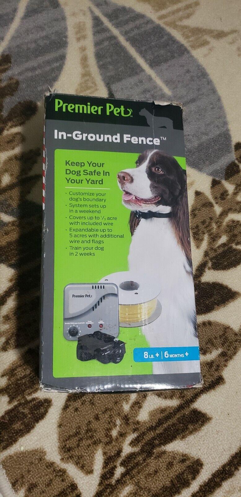 nuovo di marca Premier Pet GIG00-16349 In-Ground In-Ground In-Ground Fence System BRAND NEW Open Box  alta qualità