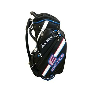 Tour-Edge-Exotics-CBX-119-Black-4-Way-Divided-Golf-Staff-Cart-Bag-NEW-499-99