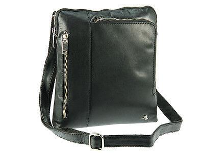 Visconti Tablet Friendly Veg Tan Buffalo Leather Messenger Shoulder Bag - ML20