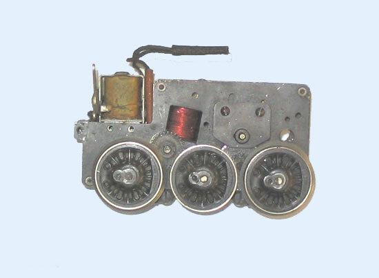 Lionel 226E-25 montaje del motor-LN