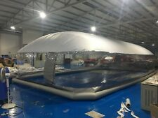 Inflatable Hot Tub Swimming Pool Solar Dome Cover Tent NEW