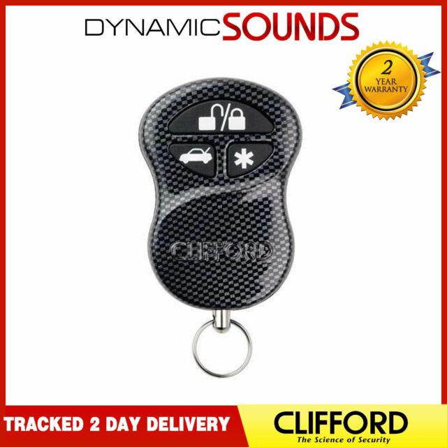 clifford g4 g5 arrow 3 button remote fob 904065 express deliverygenuine clifford g5 car alarm 3 button remote fob original carbon remote