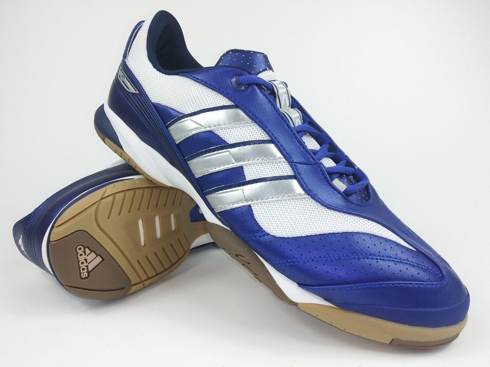 Adidas Hombre Raro Camiseta Sala Vll 012231 Azul blancoo Interior Fútbol Zapatos