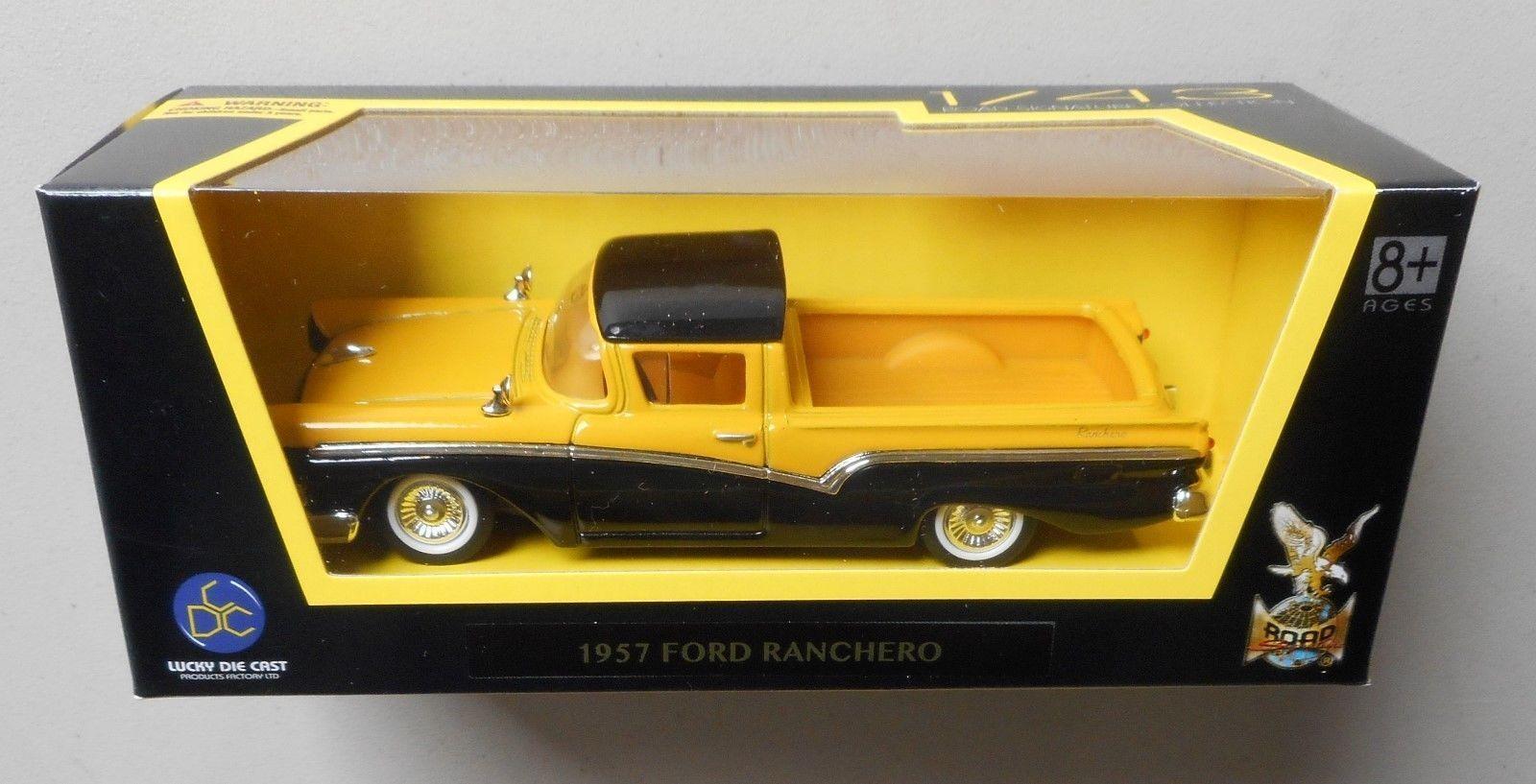 New In Box Road Signature 1/43 Diecast O Scale 1957 FORD RANCHERO