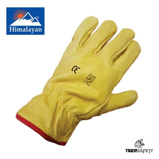 Delta Plus Venitex FBF49 Fleece Lined Leather Winter Thermal Cold Work Gloves