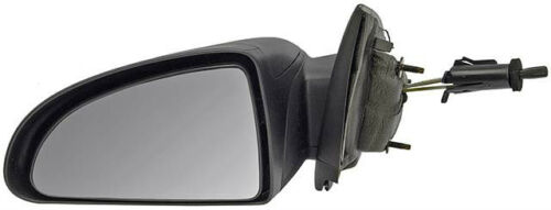 Fits 05 10 COBALT Mirror Manual Remote Textured Black NEW Driver G5 4 Dr Sedan