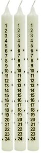 Advent-Dinner-Candle-Christmas-Countdown-Dinner-Candle-Ivory-25cm-Tall-Set-Of-3