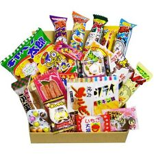 Japanese Candy Dagashi Box 20pcs Umaibo Snack Gummy kashi Chip Kitty chocolate