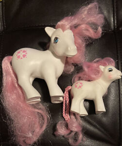 My Little Pony G1 MLP Vintage.  Baby And Mommy Sundance