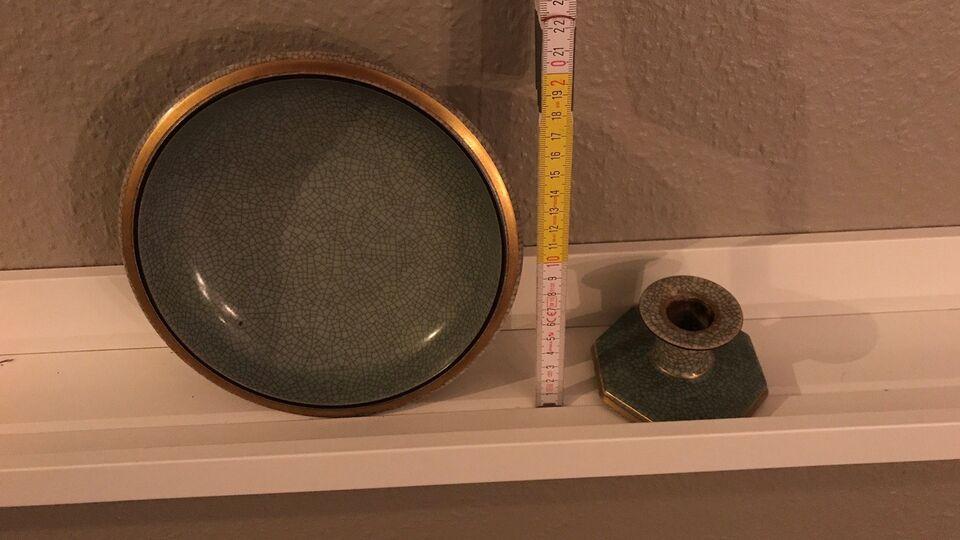 Porcelæn, Fad/lysestage, Royal Copenhagen