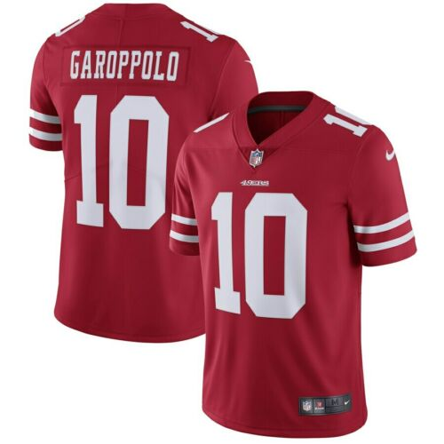 NFL American Football 49ers Gallopolo No 10 men/'s jersey embroidery Size S-XXXL
