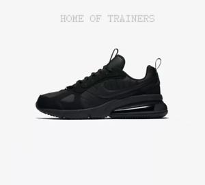 e64c3121f931 Nike Air Max 270 Futura Black Anthracite Men s Trainers All Sizes