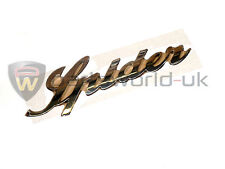 Alfa Romeo 939 Spider Chrome Effect Boot Trunk Badge 50506775 Brand New Genuine