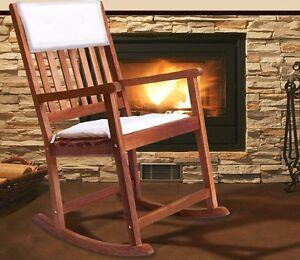 Sedia a dondolo panca mobili in legno per esterno giardino cucina | eBay
