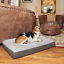 Premium-Large-Dog-Bed-Grey-Orthopaedic-Memory-Foam-Waterproof-Washable-Pet-UK thumbnail 14