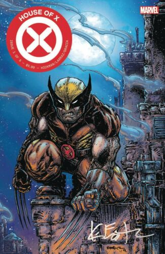 HOUSE OF X #1 KEVIN EASTMAN SIGNED EDITION PREORDER 10//09//19