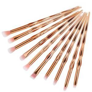 10Pcs-Pro-Makeup-Brush-Brushes-Blusher-Eyeshadow-Foundation-Concealer-Beauty-AB