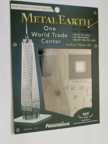 Metal Earth One World Trade Center