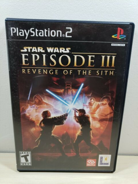 Star Wars: Episode III:Revenge of the Sith - Sony PlayStation 2, 2005 - Complete