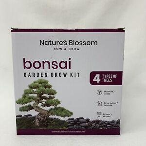 Nature's Blossom - Bonsai Garden Grow Kit (4 types of Trees)