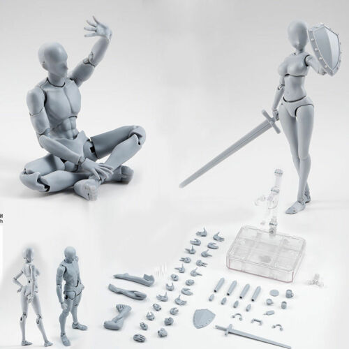 Drawing Figures Kits for Artists Action Figure Model Human Mannequin Man Woman