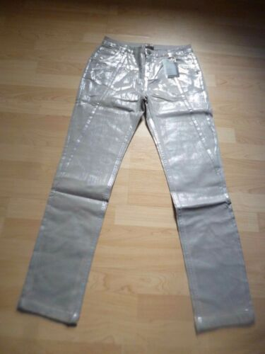 Damen Röhrenjeans B by HEINE größe 36 Silber Grau NEU Slim Fit C