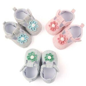 Newborn-Baby-Girl-Crib-Pram-Shoes-Kids-Soft-Sole-Anti-Slip-Walkers-Sneaker-AU