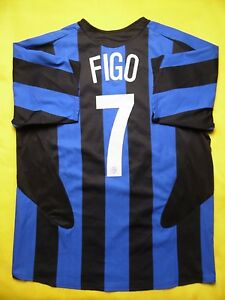 on sale b4387 c9657 4.8/5 INTERNAZIONALE INTER MILAN 7 FIGO 2005 2006 NIKE ...