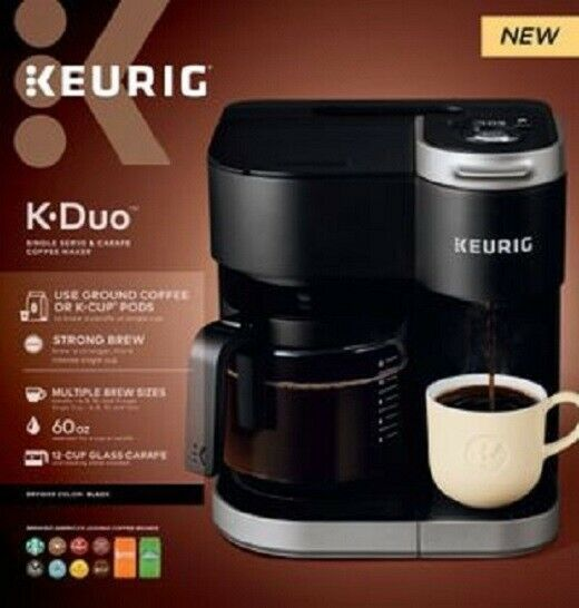 Keurig K-Duo Coffee Maker, Single Serve and 12Cup Carafe ...