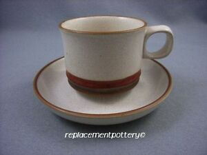 Denby-Potters-Wheel-Cups-amp-Saucers-x-6-Free-UK-Postage