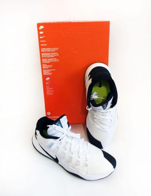 916178ac629 NEW Nike Hyperdunk 2016 Low Mens Size 12 Basketball Shoes White Black  844363100a