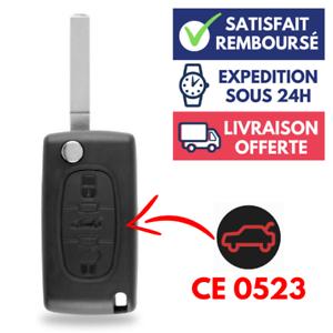 Coque-Boitier-cle-de-voiture-Telecommande-pour-Plip-PEUGEOT-207-307-407-308-607
