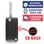 Coque-Boitier-cle-de-voiture-Telecommande-pour-Plip-PEUGEOT-207-307-407-308-607 miniatura 1
