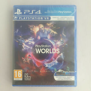 PS4 Playstation 4 - VR Worlds NEW SEALED