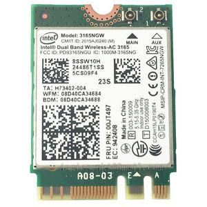 Intel Dual Band Wireless-AC 3165 Windows 8