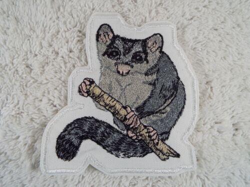 "SUGAR GLIDER 4-1//2/"" Embroidery Iron-on Custom Patch E8"