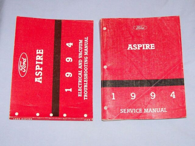 1994 Aspire Ford Factory Service Repair Manual Set With