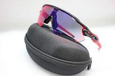 47623d7e39a Oakley Radar EV Path Polished Black Red Iridium Sunglasses OO9208-21 ...