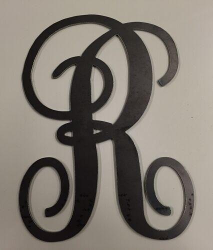 "10116-8/"" Tall Metal Monogram Script Letter A-Z Nursery Initial Kid Decor"
