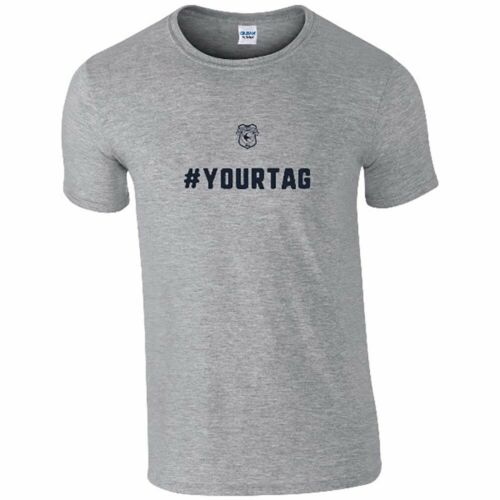 Cardiff City F.C CREST # Personalised Mens T-Shirt