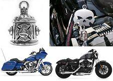 Firefighter Guardian Bell Harley Davidson & More Biker Rider New Free Shipping