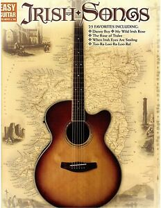 Details about Irish Songs Guitar TAB Sheet Music for St Pat's Day!! Rose of  Tralee, Danny Boy