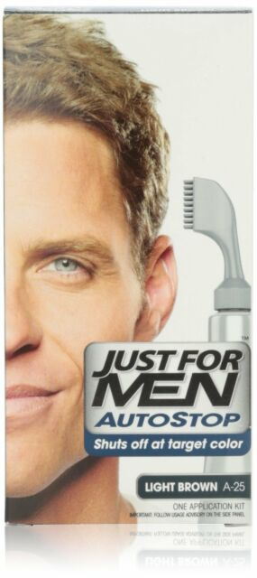 Just For Men Autostop Hair Color, Light Brown A-25 (Pack