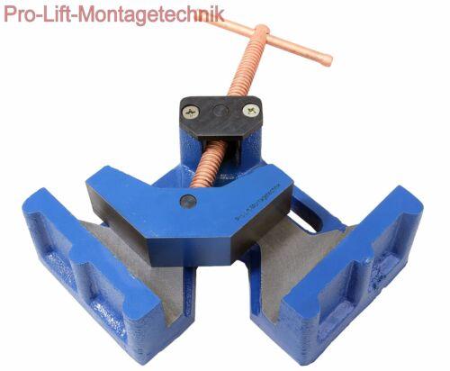75mm Winkelschraubstock Gehrungszwinge Schweißwinkel Spanner  MV075LAJ 02150