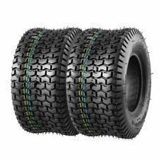 2 Turf Saver Tires 15x6x6 15x6-6 15-6.00-6.00 Lawn Mower Garden Tractor