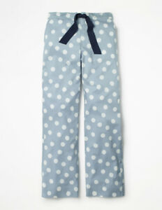 NEW Boden Suzie PJ Trousers Pyjama Bottoms - Blue Breeze Spot - Size ... 2851f50b9
