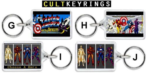 Captain America and the Avengers keyring SEGA Arcade
