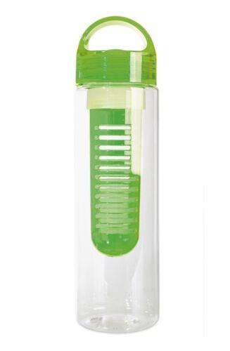 Trinkflasche Tritan Infusion Obst Kräuter Obstwasserbereiter Wasser Flasche